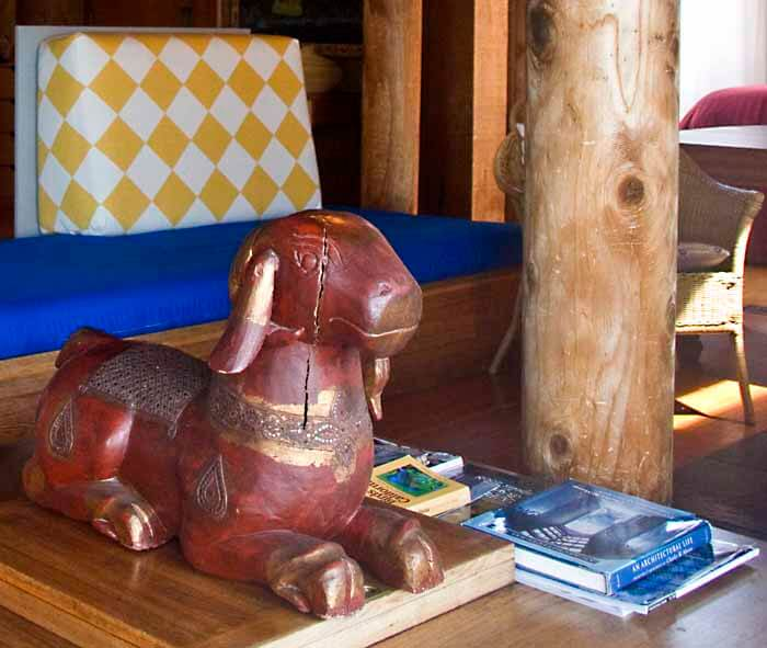 Folk Art - statue of a ram