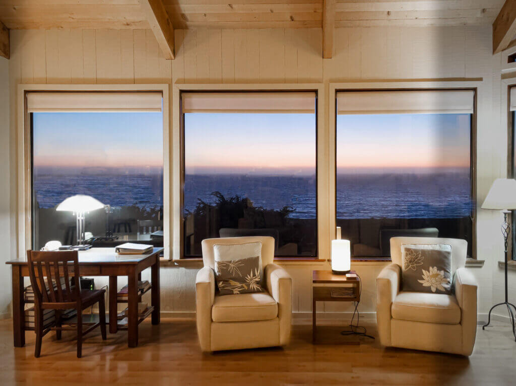 Summer Wind living room view